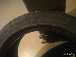 Tayar/tyre 205/45/16 directional