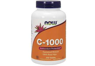 [IN-STOCK] NOW Vitamin C-1000 Sustained Release - 250 Tablets