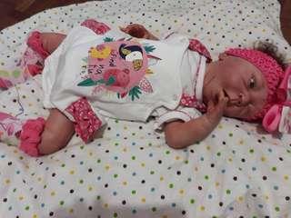 Reborn baby doll ultra realistic doll
