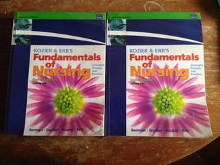 Fundamentals of Nursing by Kozier and Erb's