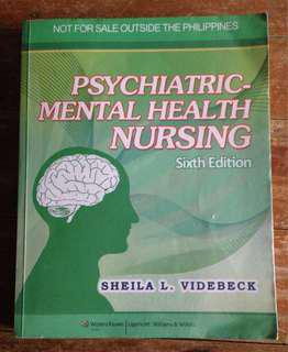 Psychiatric-Mental Health Nursing 6th Edition by Sheila Videbeck