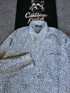 local motion floral shirt