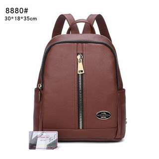 Coach Backpack Brown Color