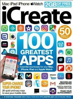 iCreate 100 Greatest APPS Magazine ebook