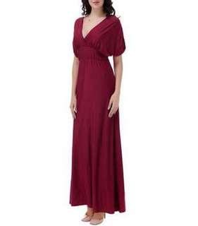 Plus Size Empire Waist Maxi Dress 102372 JPN