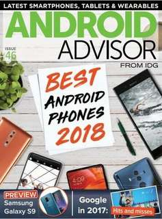 Android Advisor Best Android Phones 2018 Magazine ebook