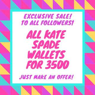 FOLLOW ME TO AVAIL OF EXCLUSIVE SALE