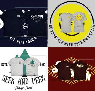 Tees seek&peek
