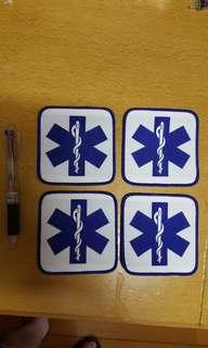 生命之星布章,急救,醫療,護理,救護車,消防