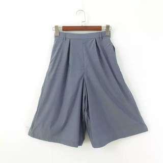 Japanese 3/4 High Waist Pants