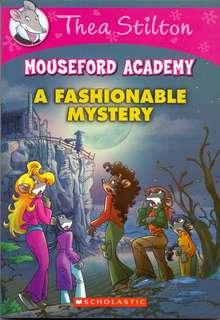 (BN) Thea Stilton Mouseford Academy #8 A Fashionable Mystery