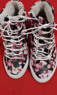 Authentic H&M sneakers(semi hi cut)