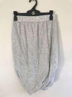 Grey wrap look pencil skirt size 8