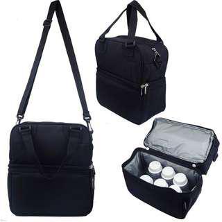 Breast Milk & Breast Pump Storage Carrier Bag- Posh Cooler Bags (Ice Pack & Bottles Not Included)