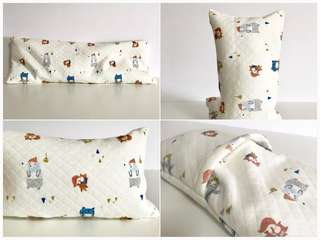 Bean Sprout Husk Pillow / Beanie Pillow , Imported Fabric ( 100% Handmade 100% Jersey Cotton , Premium Quality!)