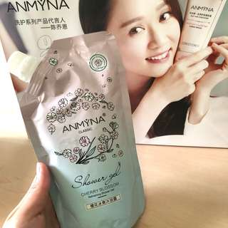 Clear stock!!!Anmyna Refreshing Cherry Blossom Shower Gel