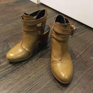 Marco Gianni open heel boots