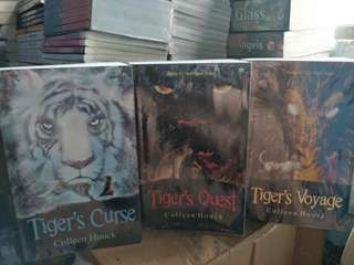 Tiger's Curse, Tiger's Quest, Tiger's Voyage - Colleen Houck