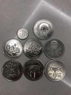 🚚 Star Wars rogue one medals medallion vintage Coins Starwars transformers statue sideshow LEGO Pokémon Gundam