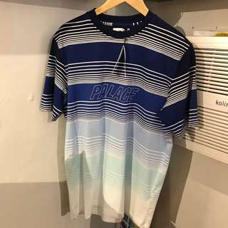 Palace Merge Tee Blue