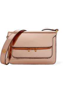 Authentic Marni Trunk Metallic Rosegold mini bag