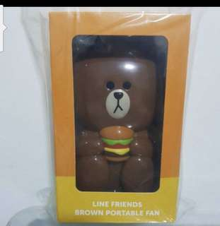 Line Brown Bear