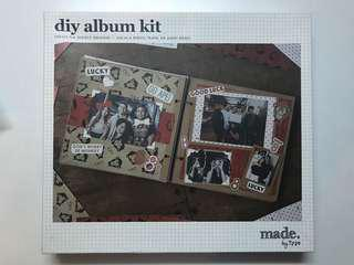 DIY Typo Album Kit