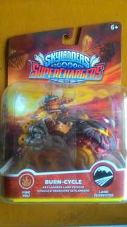 Skylanders SuperChargers Vehicle Burn Cycle