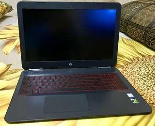 HP OMEN 15-7700HQ-12GB-128GB-1TB Black