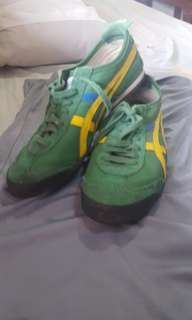 Tiger Onitsuka Mexico 66 GreenYellow