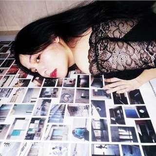 🚚 Momoco 重磅蕾絲黑洋裝👗