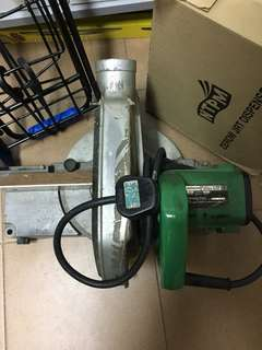 Hitachi saw