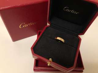 Cartier Ring Rose Gold (size 47)