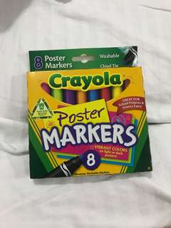 Crayola Poster Markers (NEW)