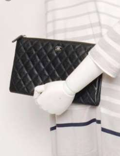 Chanel pouch/wallet/small handbag 金扣