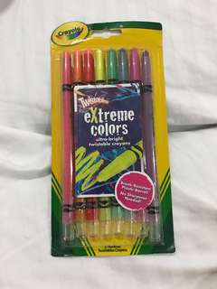 Crayola Twistables Extreme colors (NEW)