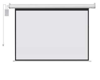 Grey Fiber Glass Projector Screen