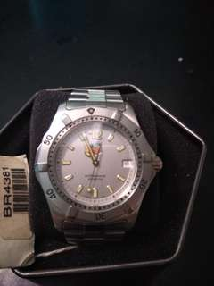 Tag Heuer Professional 200m - silver