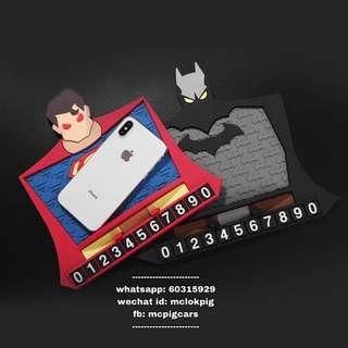 bat man superman 蝙蝠俠 超人 電話牌