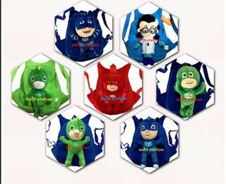 PJ MASKS KIDS PLUSH BACKPACK Bg