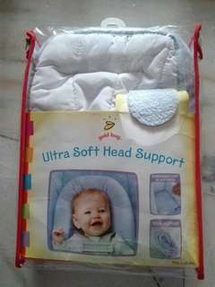 Ultrasoft baby head support