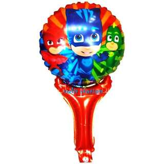 PJ MASKS PARTY LOLLIPOP FOIL BALLOONS
