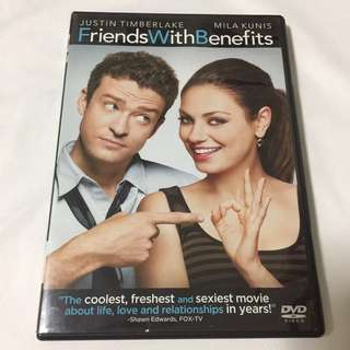 DVD Friends With Benefits