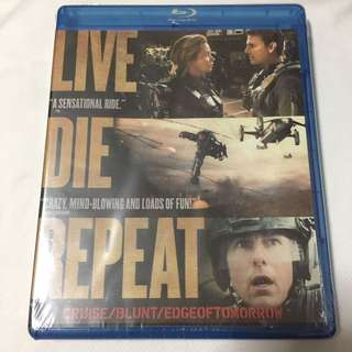 BN Live Die Repeat Movie Blu Ray + DVD