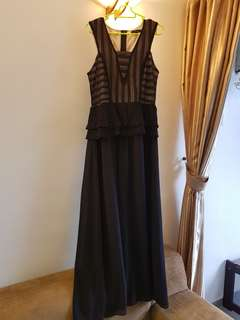 (L) Nichii Dinner Maxi Dress