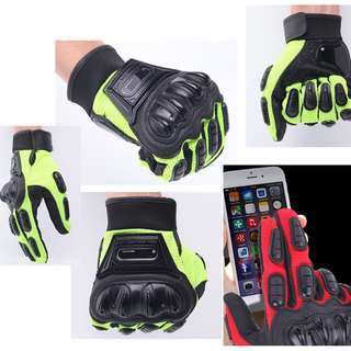 Restocked Motorbikes - Touch Screen Protective Gloves