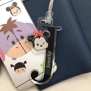 CUSTOM LUGGAGE TAG tsum tsum