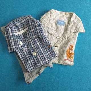 Button Down Polo Shirts' set