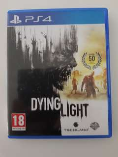 Dying Light used PS4 game (very good condition)