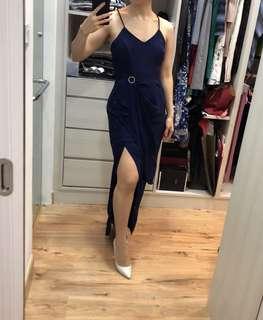 Duchess n co elegant navy long dress